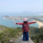 糸島の立石山は子連れに最高!!①3歳でも登れた!!