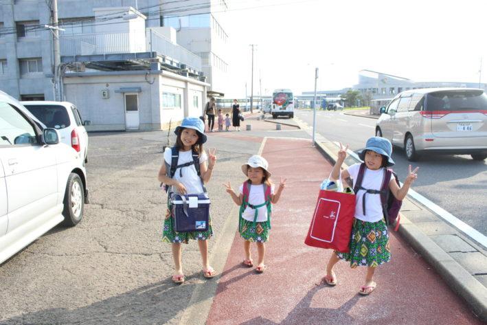 【子連れ五島福江島 】の冒険②福江到着とレンタカーと釣り♪