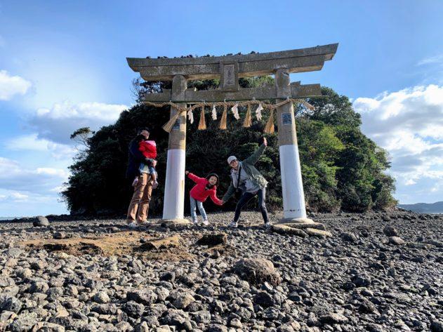 【子連れ壱岐】の冒険④ 壱岐のモンサンミッシェル!小島神社
