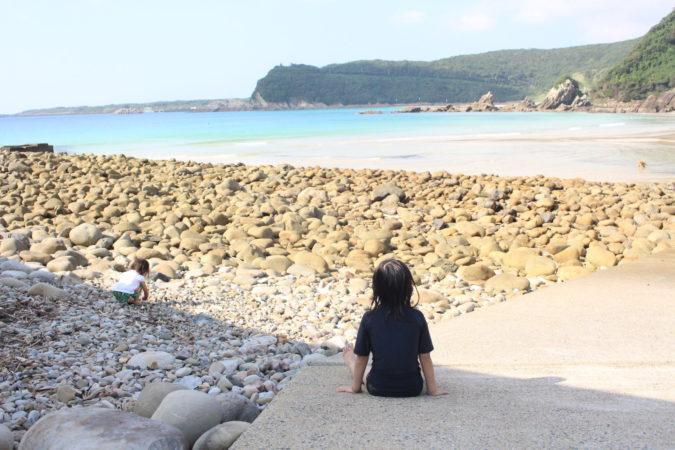 【子連れ五島福江島】の冒険④きれいすぎるー!!頓泊(とんとまり)海水浴場!!